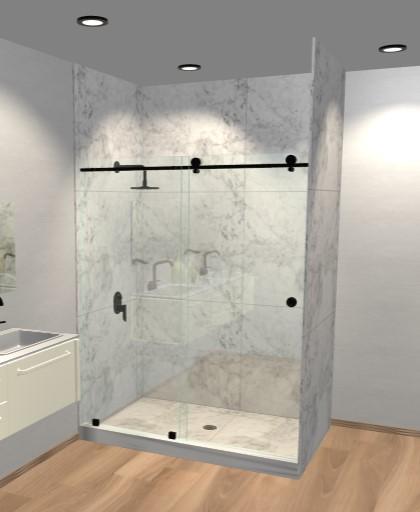 Build Your Shower Shower Door Types Dulles Glass